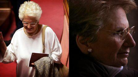 """""""Sono una delle ultime viventi di Auschwitz"""", il discorso di Liliana Segre commuove il Senato"""