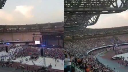 Concerto tributo a Pino Daniele: il San Paolo si riempie di spettatori