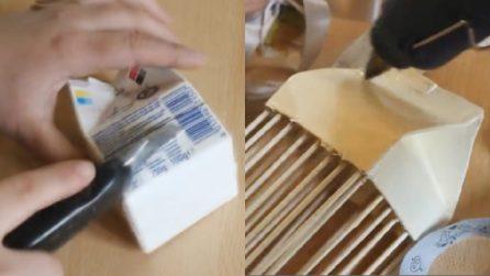 Come riciclare le confezioni del latte: lasciate spazio alla creatività