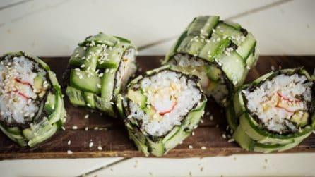 Sushi al cetriolo: da provare subito!