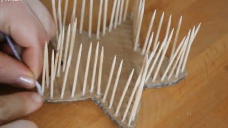 Come riciclare gli stuzzicadenti: trasformateli in un oggetto davvero utile
