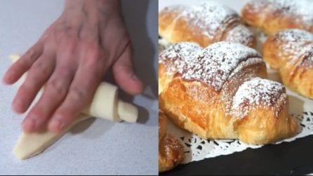 Croissant fatti in casa: la ricetta per averli soffici e deliziosi