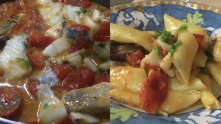 Baccalà e peperoni cruschi: il condimento per un primo piatto buonissimo