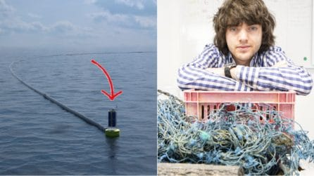 Si chiama Boyan Slat e ha inventato un metodo geniale per ripulire l'oceano dalla plastica