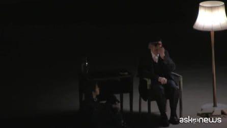 """Andrea Camilleri al Teatro Greco: """"Volevo capire l'eternità, che sento ormai così vicina a me"""""""