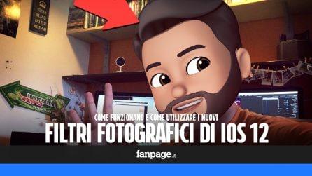 Come funzionano i nuovi filtri fotografici di iOS 12 che sfruttano la realtà aumentata