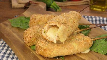 Spiedini pollo e zucchine: facili, veloci e super sfiziosi!