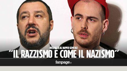 """Intervista a Gemitaiz dopo la polemica con Salvini: """"Il razzismo è come il nazismo, ci andrò sempre contro"""""""