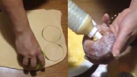 Bomboloni al cioccolato e crema: la ricetta per farli in casa