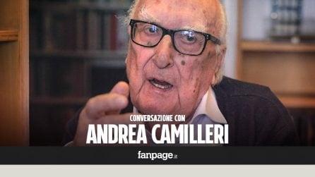 """A casa di Andrea Camilleri, la fine di Montalbano, la cecità e Dio: """"Mi manca vedere la bellezza femminile"""""""