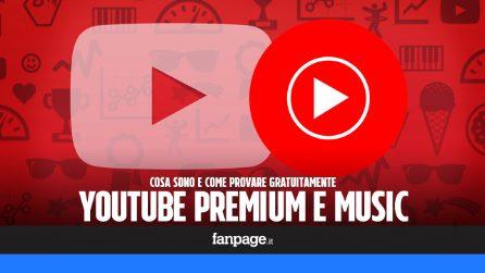 YouTube Premium e YouTube Music: cosa sono e come provarli gratis