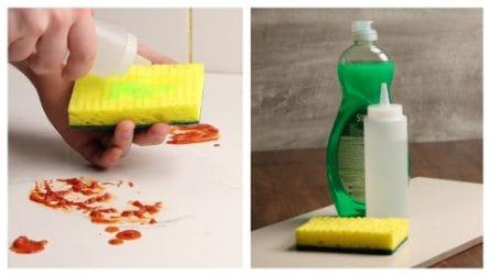 Il semplice metodo per pulire le mattonelle della cucina