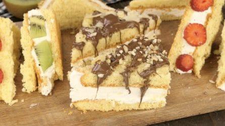 Tramezzini gelato: la merenda fresca che piacerà a grandi e piccini!