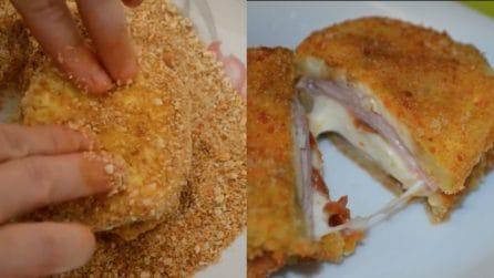 Sandwich di melanzane fritte filanti: vorrai provarli subito