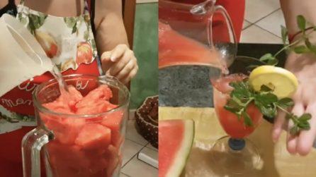 Lemonguria, la bevanda fresca e pronta in pochi minuti