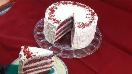 Torta Red Velvet: il dolce alto e soffice di cui vi innamorerete al primo assaggio