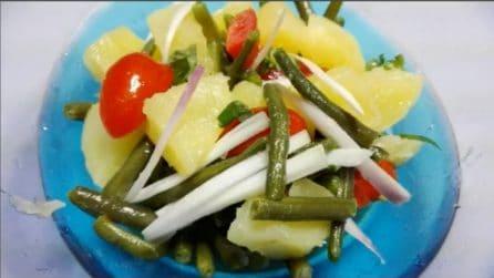 Insalata alla palermitana: la ricetta estiva fresca e leggera