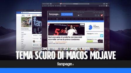 Come sarà il nuovo tema di macOS Mojave: la modalità scura che cambierà volto ai Mac