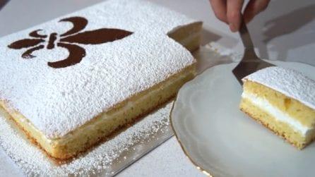 Schiacciata fiorentina: un dolce semplice, cremoso e morbido