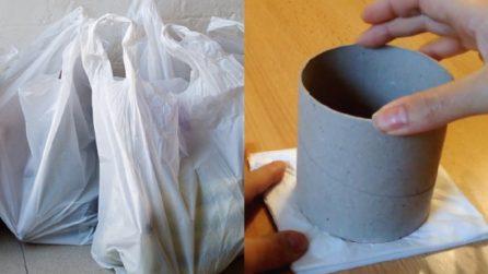 Come riciclare le buste di plastica: non immaginerete in cosa le trasforma