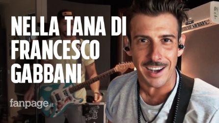 """Alle prove del tour di Francesco Gabbani: """"È dal vivo che si vede il lato umano del musicista"""""""