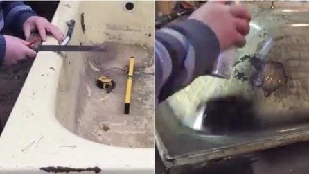 La vecchia vasca diventa divano esempi bellissimi video