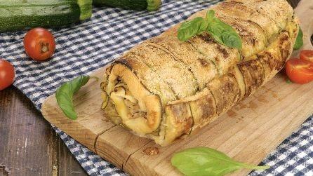 Rotolo veloce di zucchine e tonno: la ricetta per una cenetta pratica, ma piena di sapore!