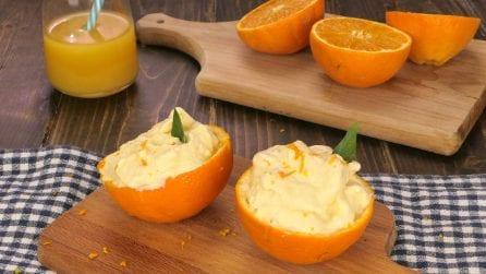 Sorbetto veloce all'arancia: ecco come farlo in casa con il contenitore del ghiaccio!