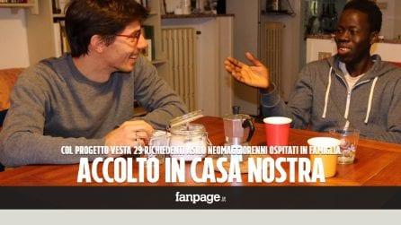 """""""Li accogliamo in casa nostra"""": rifugiati ospitati in famiglia grazie al progetto Vesta"""