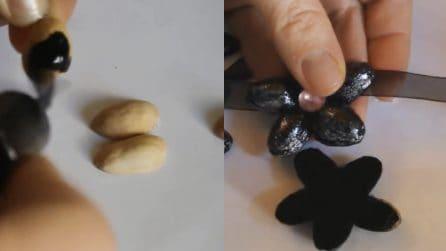 Come riciclare i gusci dei pistacchi: un'idea molto originale