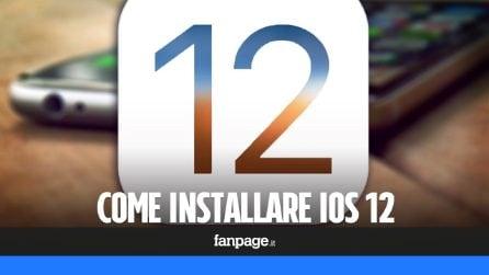 Ecco come installare la beta pubblica di iOS 12 sul tuo iPhone o iPad
