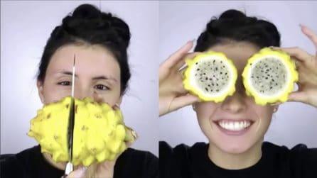 """Prepara una maschera per il viso usando un frutto """"particolare"""""""