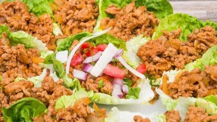 Tacos d'insalata: l'idea a cui nessuno aveva mai pensato!