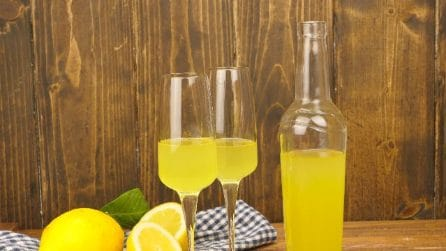 Homemade limoncello: the italian recipe!