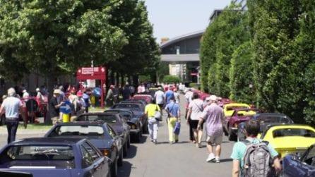 Ferrari Dino, compleanno speciale a Maranello per i 50 anni dalla messa in strada