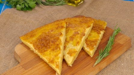 Chickpea Farinata: here is the recipe for the traditional Ligurian dish.
