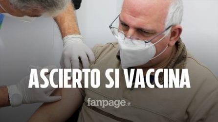 """Covid, il Dottor Ascierto si vaccina e lancia un appello: """"Fatelo tutti, sarà la svolta"""""""