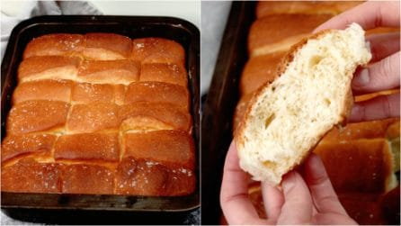 Parker house roll: fluffy and easy to make!
