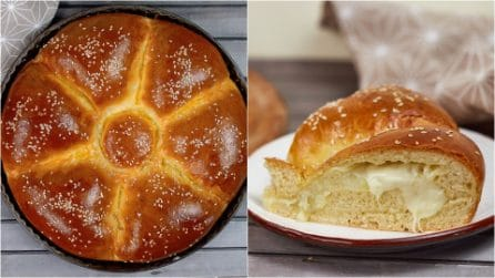 Stuffed bread: the delicious homemade recipe for suprise your guests!