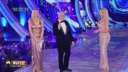 GF Vip, scontro in diretta tra Valeria Marini e Antonella Elia