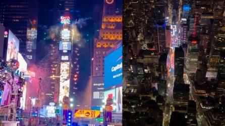Capodanno a New York, tante luci ma città vuota