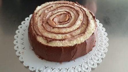 Torta tronchetto al cioccolato: la ricetta del dessert soffice e originale