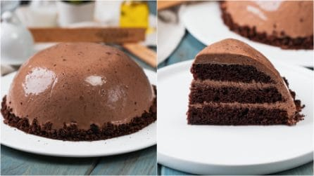 Chocolate Ball Cake: creamy and delicious, the dessert of your dreams!