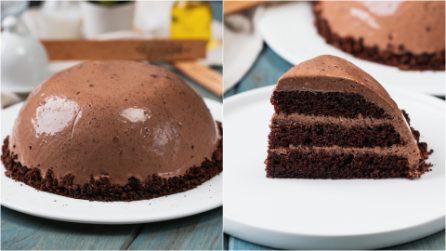 Torta la cioccolato in microonde: cremosa e deliziosa, non saprete dirle di no!