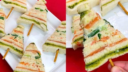Christmas tree appetizer: a delicious idea that kids will love!