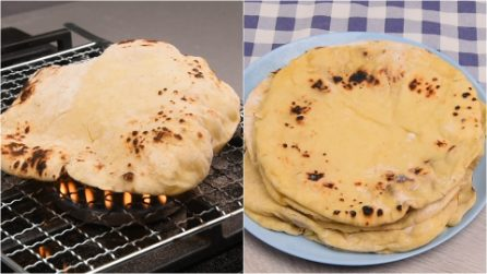 Naan bread: fluffy and soft, it whets your appetite!