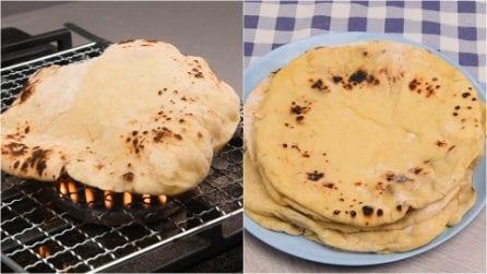 Pane in padella: morbido e saporito, ti stuzzica l'appetito!