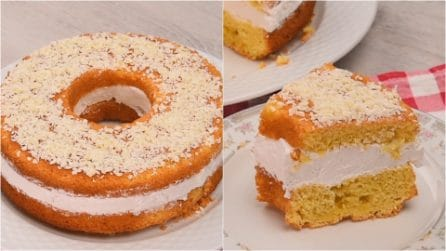 Paradise donut: soft, delicious and easy to make!