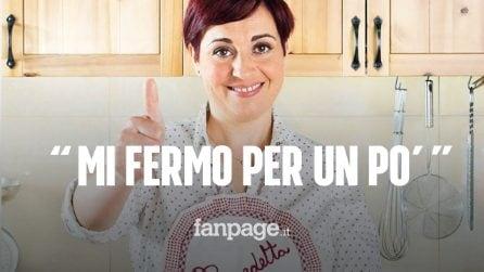 """Benedetta Rossi si ferma: """"Ho bisogno di staccare la spina e stare sola con mio marito"""""""