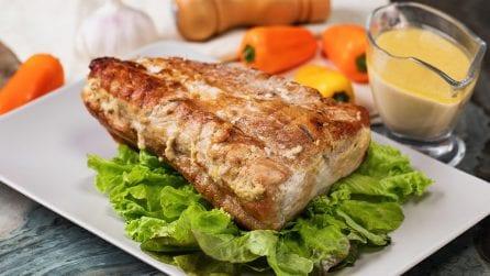 Milk pork loin: delicious and easy to preparare!